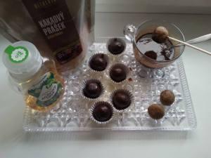 Čokoládové kuličky - Vitariánské Vánoce