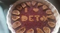 Detoxikační dort - raw dezert - recept