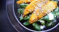 Exotický salát s marinovaným mangem 4